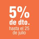 5% descuento