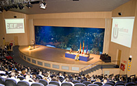 Entrega el Premio Estudios Financieros en el Oceanográfico de Valencia