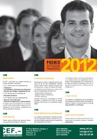 Premio Estudios Financieros