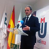 José Andrés Sánchez Pedroche, Rector de la UDIMA