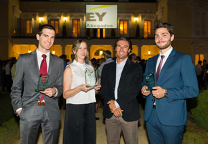 Helena Orea - Premio Young Tax Professional of the Year de EY Abogados