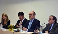 Pimentel habla en el CEF.- de la gestión de conflictos