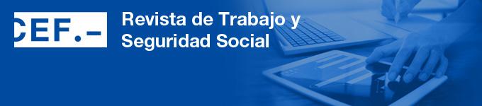 Revista de Trabajo y  Seguridad Social