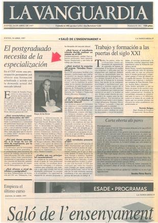 1997 - La Vanguardia - 40 Aniversario CEF
