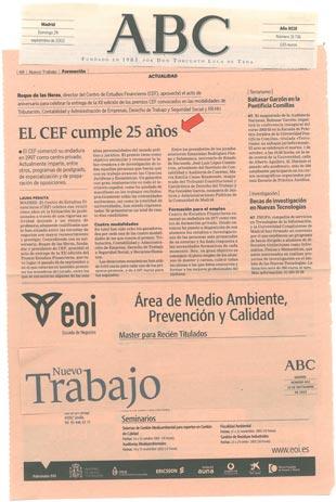 2002 - ABC - 40 Aniversario CEF