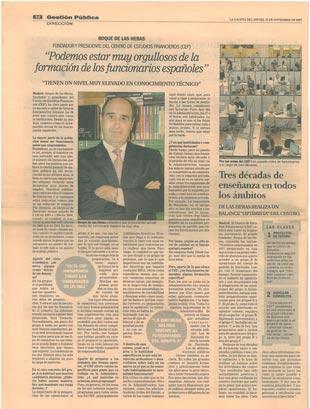 2007 - La Gaceta- 40 Aniversario CEF