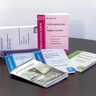 Revistas Especializadas del CEF.-