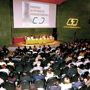 Entrega Premio Estudios Financieros 1998