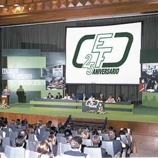 Premio Estudios Financieros - Celebración del 25 aniversario