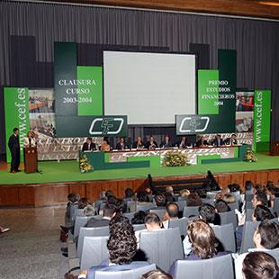 Clausura Curso 2003-2004 CEF.- Premio Estudios Financieros