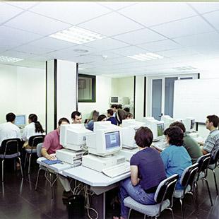 Antigua aula de informática del CEF