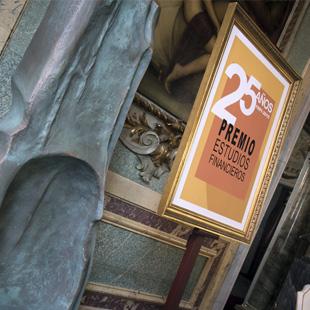 25 Aniversario del Premio Estudios Financieros