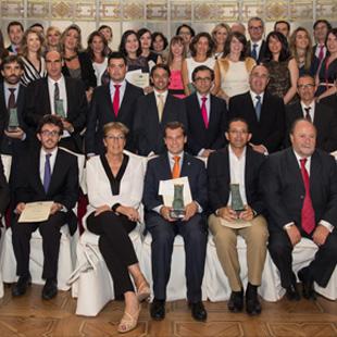Premiados 25 Aniversario del Premio Estudios Financieros