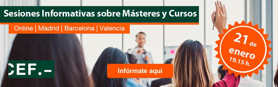 Sesiones Informativas CEF.-