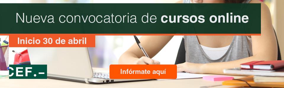 CEF.- Cursos Online