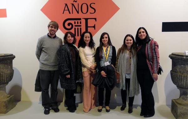 Alumnos del Máster en Mercado del Arte visitan Feriarte