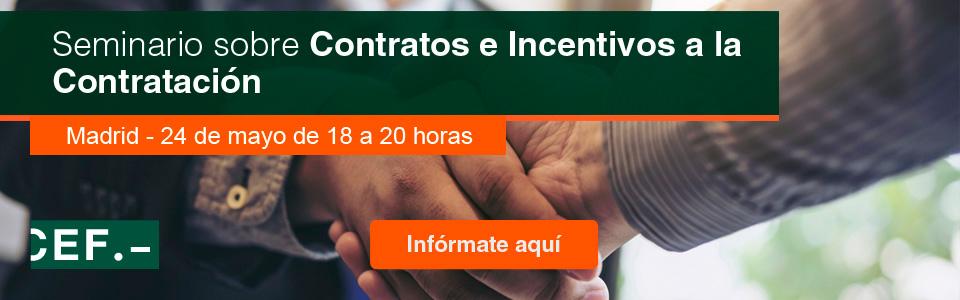 Seminario sobre Contratos e Incentivos a la Contratación