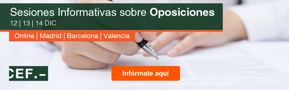 Sesiones Informativas sobre Oposiciones