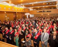 Alumnos en la Graduación de Valencia