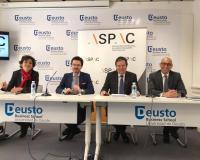 De izquierda a derecha, Marta Flores, José Amérigo, Diego Comendador y Aticus Ocaña.