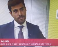 Captura de la entrevista en UDIMA Media a Jordi Aparisi (Redacción: Luis Miguel Belda)