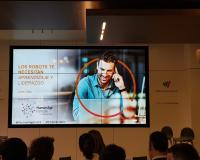 Presentación en el evento