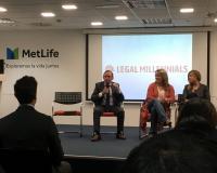 Jesús Martínez Domingo, director del Área de Oposiciones del CEF.-, en el evento Legal Millenials.