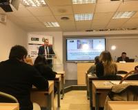 Antonio Cuevas, jefe de estudios del Área de Laboral, presentó la ponencia.