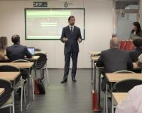 Arturo de las Heras recibe a las empresas de la II Feria Virtual de Empleo del Grupo CEF.- UDIMA.