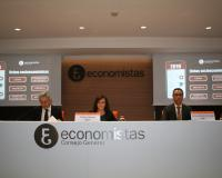 Imagen del salón de actos del Consejo General de Economistas