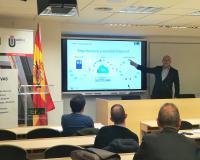 Ramón Cano, CEO de ByEvolution, este martes en el CEF.-.