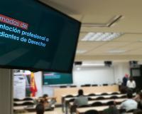 El CEF.- celebra las I Jornadas de orientación profesional para estudiantes de Derecho.