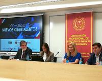Cañizares, Barrera, Álvarez y González, este martes en la sede del CEF.- de Madrid.