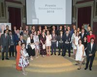 Foto de familia de los premiados (Redacción: María Guijarro/Reportaje fotográfico: Julia Robles)
