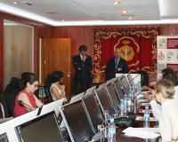 Durante la presentación del informe
