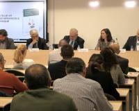 Imagen del acto de presentación del libro de la Editorial Estudios Financieros en Madrid.