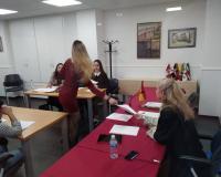 Simulacro de juicio en el CEF.-
