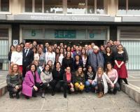 Trabajadores del CEF.-, concentrados por el Día Internacional de la Mujer