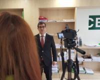 Fernando Rodríguez, profesor del Grupo CEF.- UDIMA (Redacción: Marta Peiro/Fotografía: Luis Miguel Belda/Imagen: Alejandro Benito)