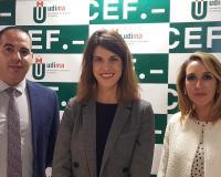 Antonio Cuevas, Laura Pérez y Ana Landeta