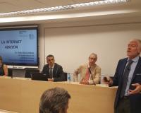 Pablo García Mexía, durante su intervención (Redacción: CEF.- Media)
