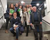 Foto de familia estudiantes de La Confitería Delaviuda (Redacción: UDIMA Media)