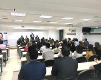 Reunión en CEF.- en la que fueron comunicados los cambios