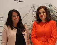María Goretti Piñeiro y Ruth Bravo