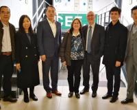 La delegación china visita CEF.- Barcelona